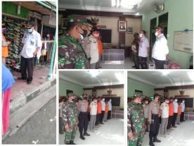 Operasi Rutin Penegakan Displin Protokol kesehatan di Wilayah Kelurahan Suryatmajan