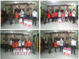Pemberian bantuan  Alat, Bahan dan APD untuk KTB dari BPBD kepada Kelurahan Suryatmajan