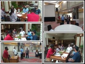 Silaturahmi dan peninjauan protokol kesehatan di Hotel Grand Inna Malioboro