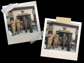 Pembagian Masker, Sarung tangan dan Vitamin oleh Satuan Polisi Pamong Praja Kota Yogyakarta