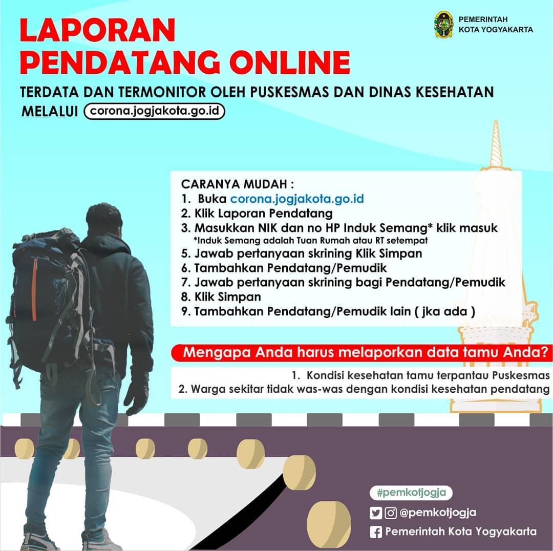 Pendataan Pemudik di Kota Yogyakarta