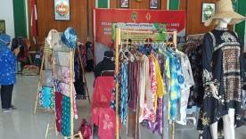 KOK Sekar Mataram Kampung Ledok Macanan Mengikuti Pameran Untuk IKM dengan Produk Shibori, Jumputan, Ecoprint dan Lurik di Balaikota Yogyakarta